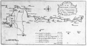 map of original canal